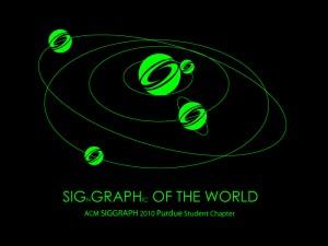 SIGGRAPH 2009 T-shirt Design